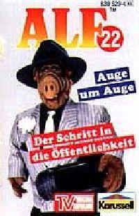 Alf - 22 - Auge um Auge / Der Schritt in die Öffentlichkeit - MC