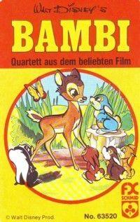 Bambi - Quartett