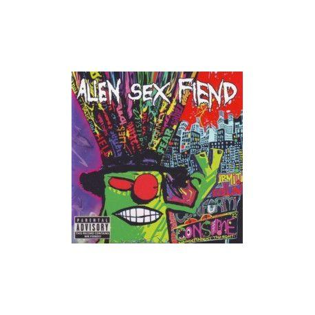 Alien Sex Fiend - information overload - CD