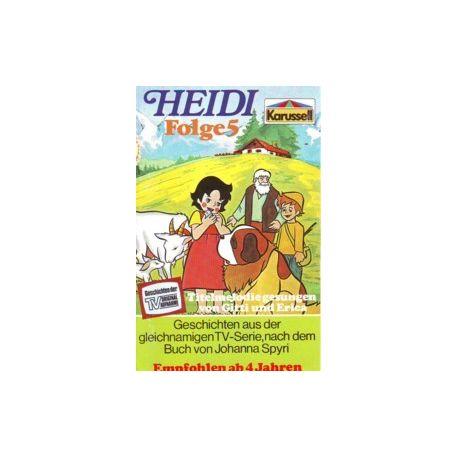 Heidi - Karussell - Folgen 2, 4-9 je