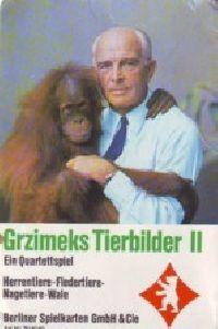 Grzimeks Tierbilder 2 - Quartett