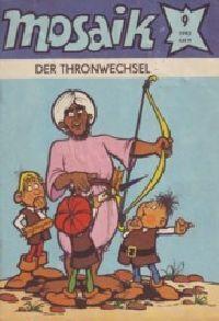 Mosaik 1982 09 - Der Thronwechsel - Comic