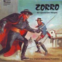 Zorro (Eine orginal Walt Disney Produktion) (Klappcover) LP