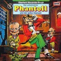 Phantoll - Der unheimliche Phantoll und der gelbe Diamant - LP