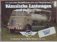 Klassische Lastwagen - DAF - Postkarten