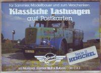 Klassische Lastwagen - Henschel - Postkarten