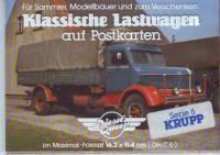 Klassische Lastwagen - Krupp - Postkarten