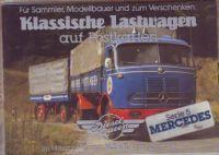 Klassische Lastwagen - Mercedes - Postkarten