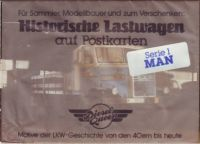 Historische Lastwagen - MAN - Postkarten