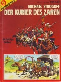 Classicomics Nr.9 - Der Kurier des Zaren - Comic