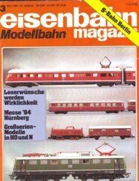 Eisenbahn Magazin - 3 - März 1984