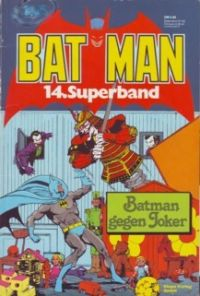 BAT MAN - 14. Superband - Comic