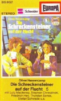 Schreckenstein -5- Die Schreckensteiner auf der Flucht - MC