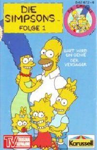 Simpsons, Die -1- Bart wird ein Genie / der Versager - MC