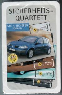 Renault Sicherheits- Quartett