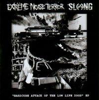 "Extreme Noise Terror / Slang - split 7"""