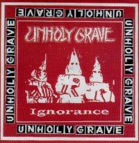 Unholy Grave / Embalming Theatre - blue vinyl - split EP