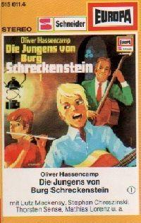 Schreckenstein -1- Die Jungs von Burg Schreckenstein - MC