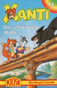 Xanti -12- Die schwarzen Wölfe - MC