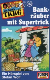 TKKG (142) Bankräuber mit Supertrick - MC
