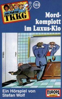 TKKG (123) Mordkomplott im Luxus Klo - MC