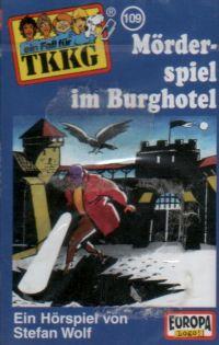 TKKG (109) Mörderspiel im Burghotel - MC