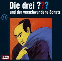 Drei ???, die -022- und der verschwundene Schatz - CD