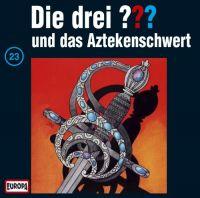 Drei ???, die -023- und das Aztekenschwert - CD