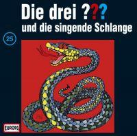 Drei ???, die -025- und die singende Schlange - CD