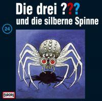 Drei ???, die -024- und die silberne Spinne - CD