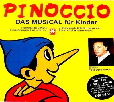 Pinoccio - Das Musical für Kinder - LP