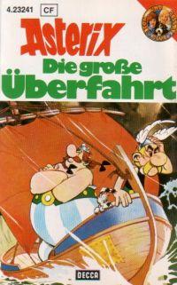 Asterix - Die große Überfahrt - Decca - MC
