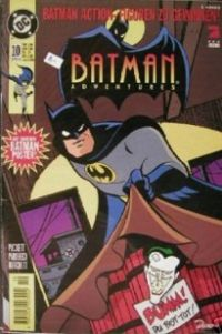 BATMAN Adventures, Nr.10, Apr. 96, mit Poster