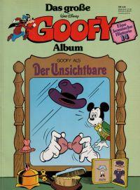 Goofy - das große Album 14 - Der Unsichtbare - Comic
