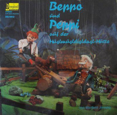 Augsburger Puppenkiste - Beppo und Peppi auf der Hüglmugldigldagl-Hütte - LP