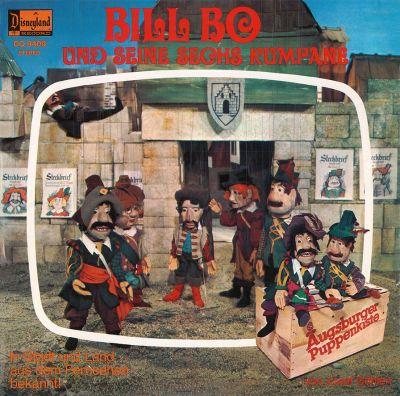 Augsburger Puppenkiste - Bill Bo und seine sechs Kumpane - LP