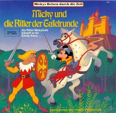 Micky und die Ritter der Tafelrunde - LP