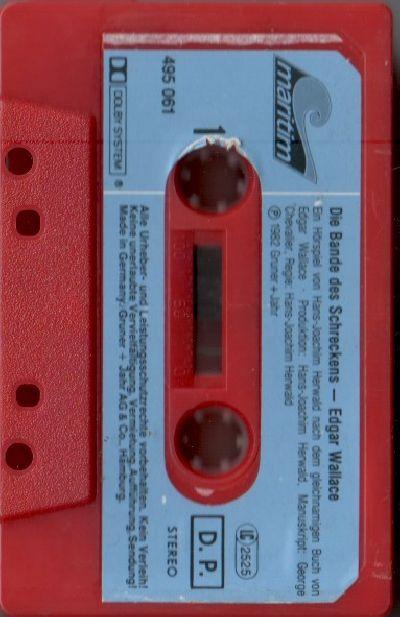 Edgar Wallace (05) Die Bande des Schreckens - MC