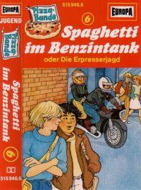 Pizza Bande 6 - Spagetti im Benzintank - MC