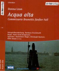 Donna Leon - Aqua Alta - 2 MC