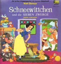 Schneewitchen und die sieben Zwerge - Disney - LP