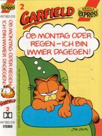 Garfield - Folgen 2, 3, 4, 5 - MC je