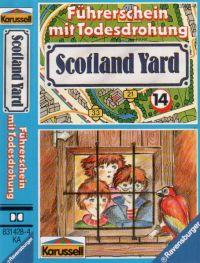 Scotland Yard -14- Führerschein mit Todesfolge - MC