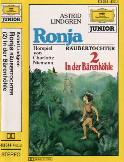 Ronja Räubertochter -2- In der Bärenhöhle - MC