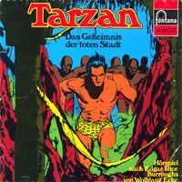 Tarzen - Folge 4 - Das Geheimnis der toten Stadt - LP