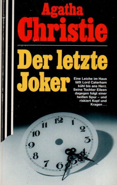 Agatha Christie - Der letzte Joker - Buch