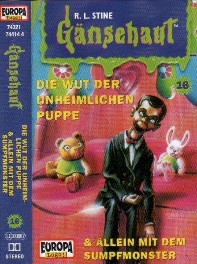 Gänsehaut -16- Die Wut der unheimlichen Puppe - MC