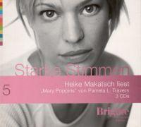 "Starke Stimmen -5- Heike Makatsch liest ""Mary Poppins"" - 3 CD s"