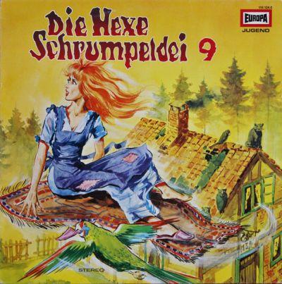 Hexe Schrumpeldei (9) Und Der Fliegende Teppich - LP