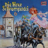 Hexe Schrumpeldei, Die -6- und der Wilde Hexensabbat - LP